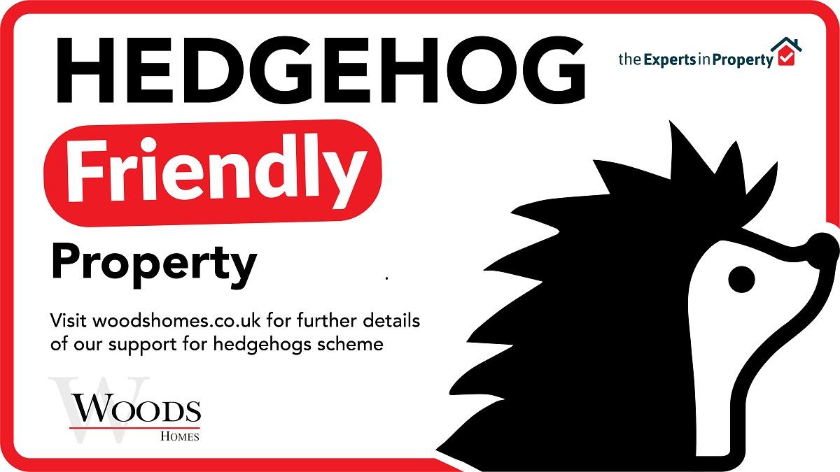 Hedgehog Friendly Property